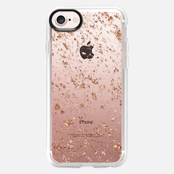 Rose Gold Splatter - Classic Grip Case
