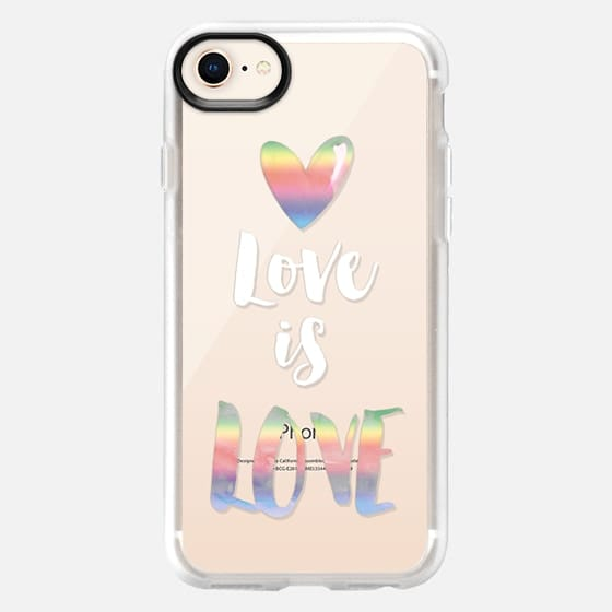 Love is LOVE - Snap Case