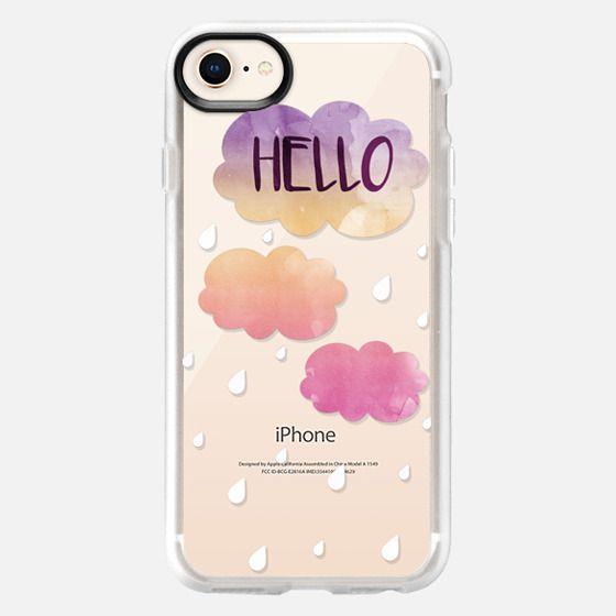 Hello Rain - Snap Case