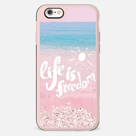 Life is Freedom - New Standard Case