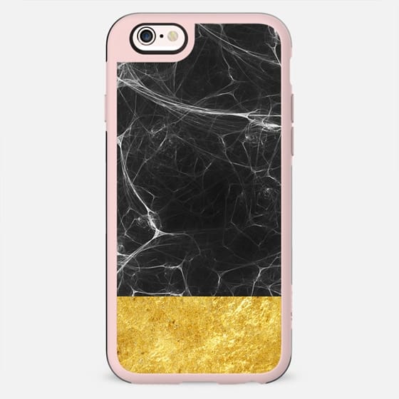 Black Marble and Gold - New Standard Case