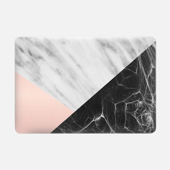 "Macbook Pro 15"" (2008 - 2012) Case - Marble Collage"