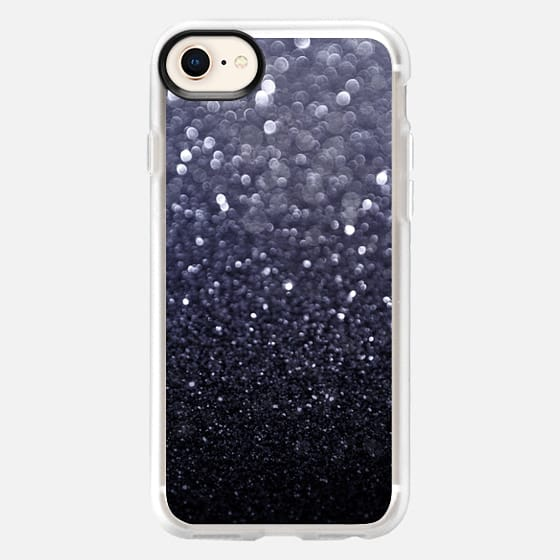Abstract Black Light - Snap Case