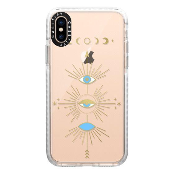 iPhone XS Cases - Evil Eye Totem
