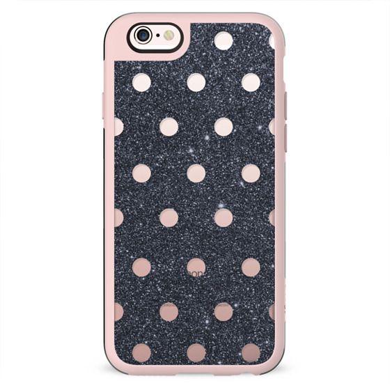 Black and Pink Poka Dots