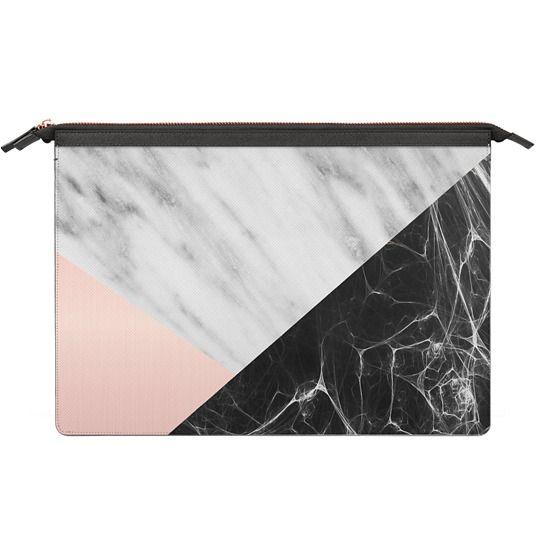 MacBook Pro Touchbar 13 Sleeves - Marble Collage