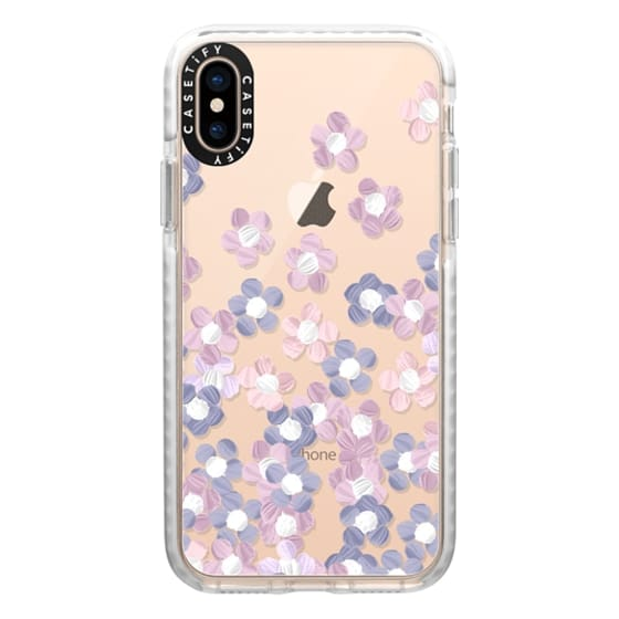 iPhone XS Cases - Spring Little Flowers