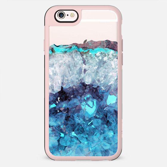 Blue Amethyst Crystals
