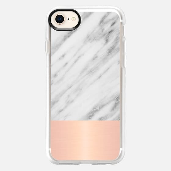 Italian Marble and Pink - Snap Case