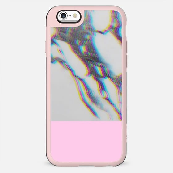 3D Marble with Pink - New Standard Case