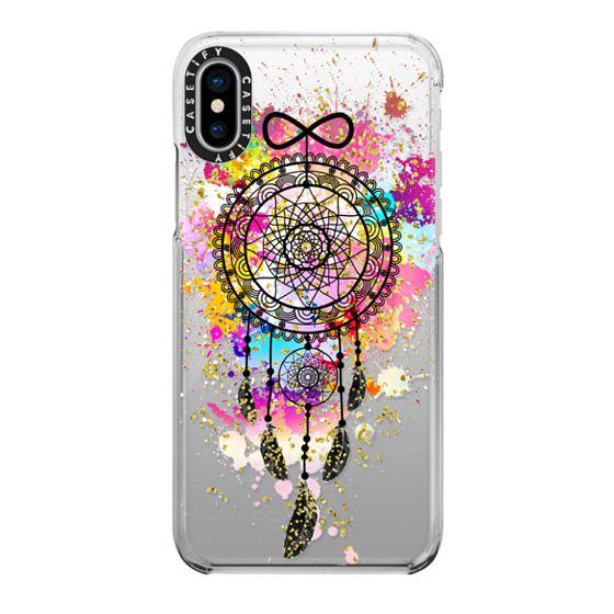 iPhone X Cases - Dreamcatcher Explosion