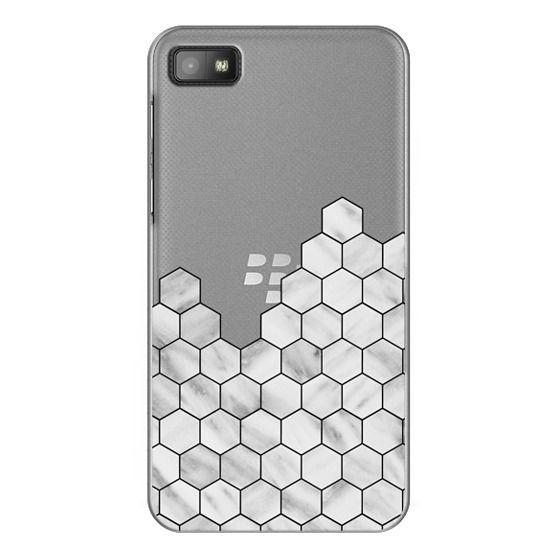 Blackberry Z10 Cases - Marble Exagonal Collage