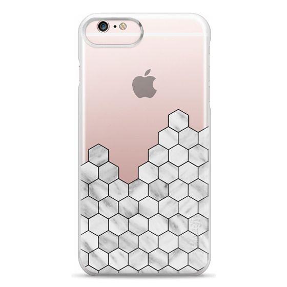 iPhone 6s Plus Cases - Marble Exagonal Collage