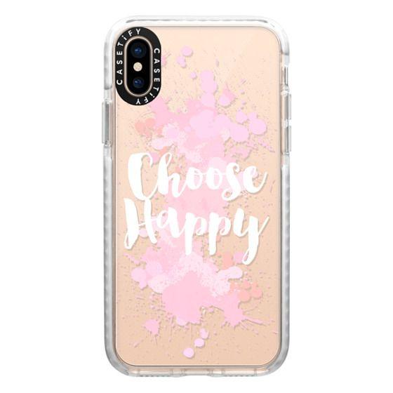 iPhone XS Cases - Choose Happy
