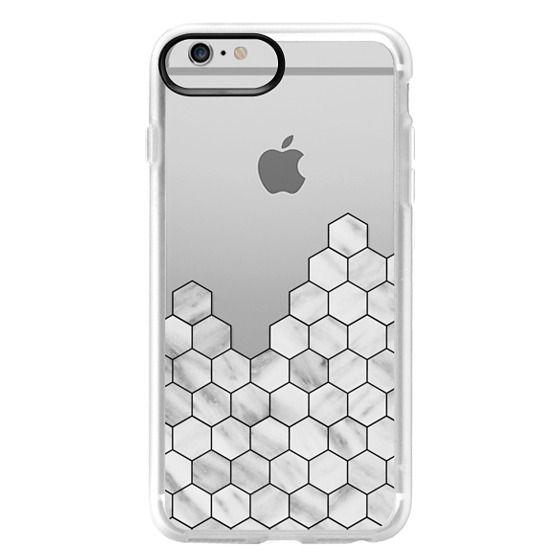 iPhone 6 Plus Cases - Marble Exagonal Collage