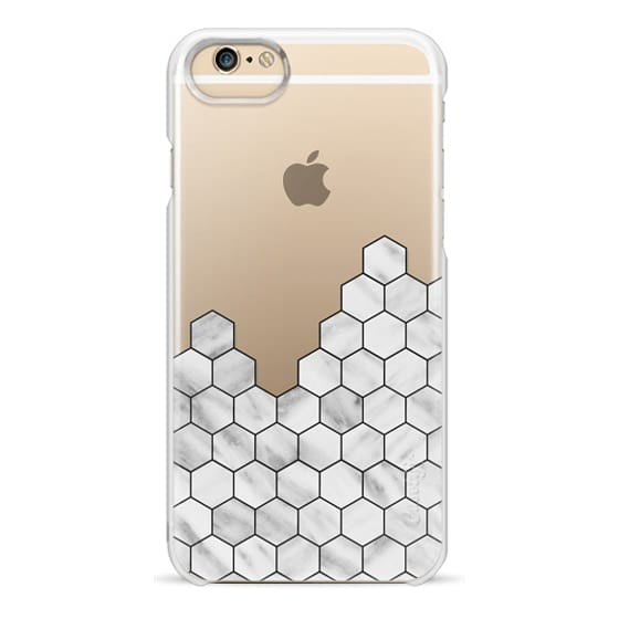 iPhone 6 Cases - Marble Exagonal Collage