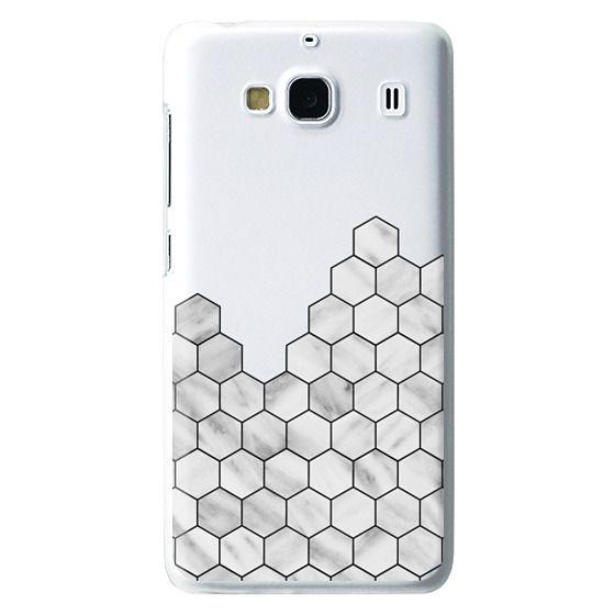 Redmi 2 Cases - Marble Exagonal Collage