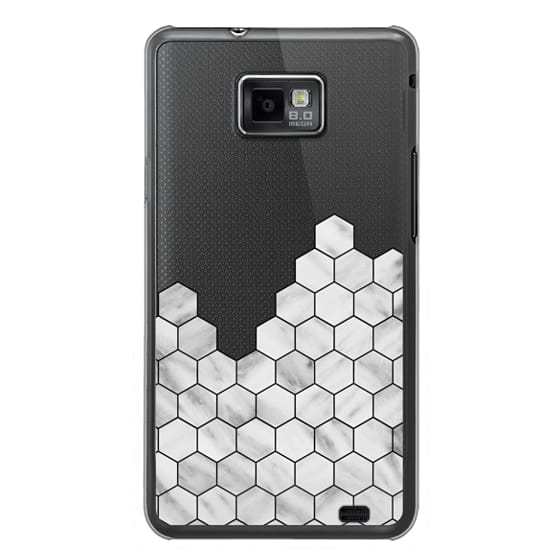 Samsung Galaxy S2 Cases - Marble Exagonal Collage