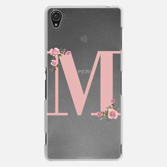 M - MONOGRAM (Transparent)