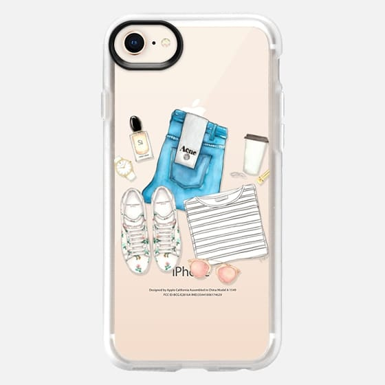 FRESH NEW WEEK (Transparent) - Snap Case