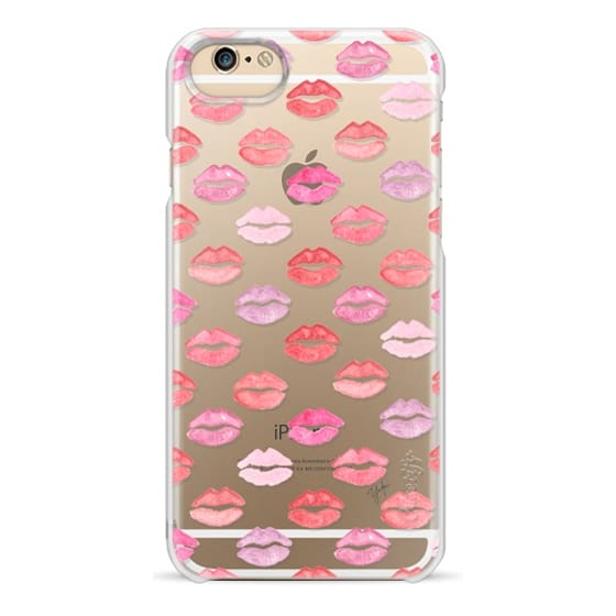 iPhone 6s Cases - BABY KISS ME (Transparent) (Lips)