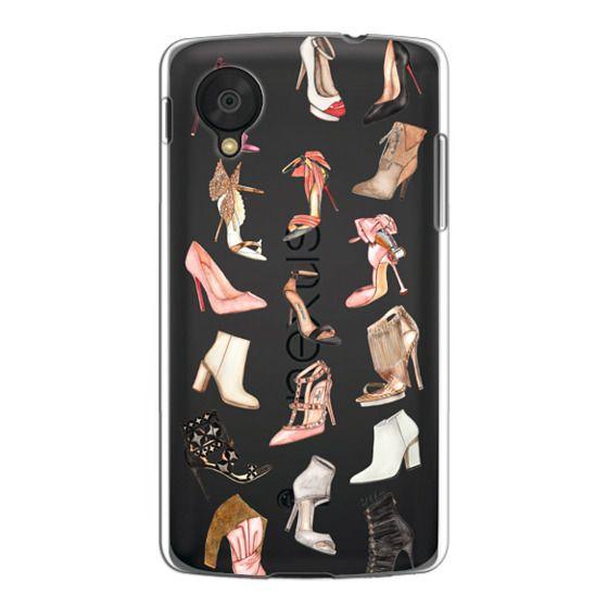 Nexus 5 Cases - BEST FOOT FORWARD (Transparent background)