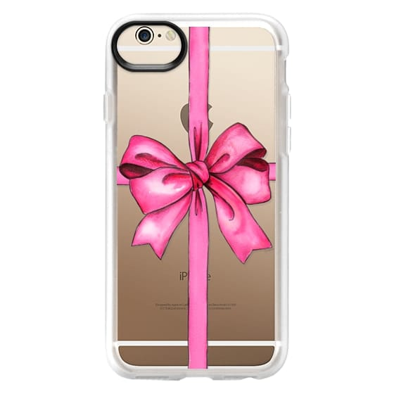iPhone 6 Cases - SAY IT WITH A GIFT (Transparent background, Bow)