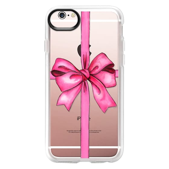 iPhone 6s Cases - SAY IT WITH A GIFT (Transparent background, Bow)