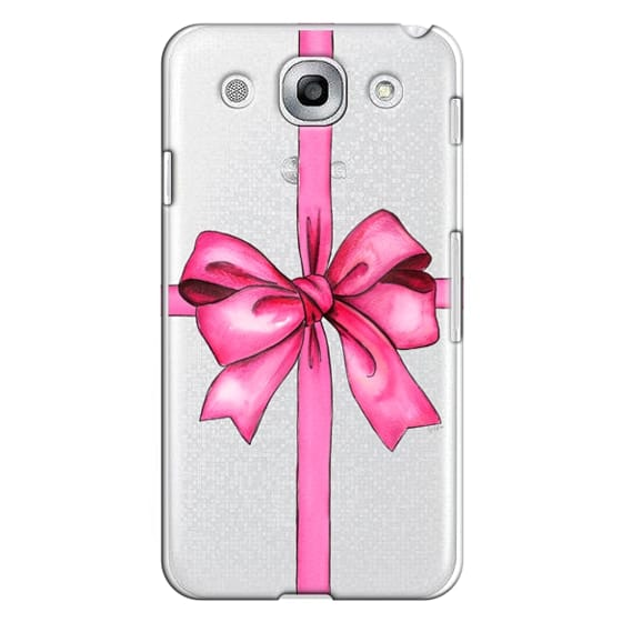 Optimus G Pro Cases - SAY IT WITH A GIFT (Transparent background, Bow)