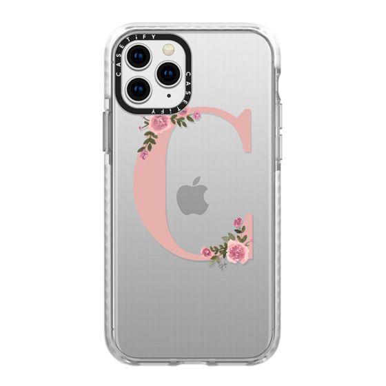 iPhone 11 Pro Cases - C - MONOGRAM (Transparent)