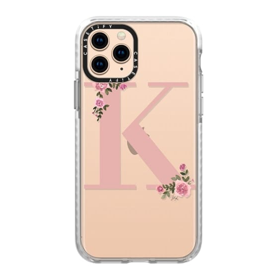 iPhone 11 Pro Cases - K - MONOGRAM (Transparent)