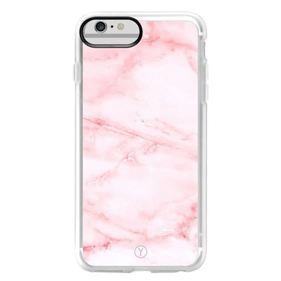 iPhone 6 Plus Cases - PINK MARBLE