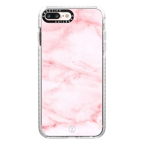 iPhone 7 Plus Cases - PINK MARBLE