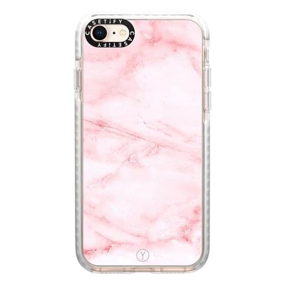 iPhone 8 Cases - PINK MARBLE
