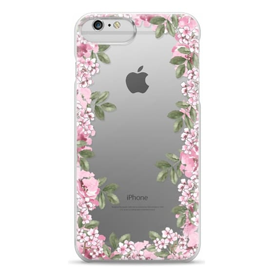 iPhone 6 Plus Cases - A DAY IN BLOOM (Transparent) (Flowers)