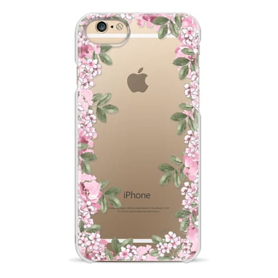 iPhone 4 Cases - A DAY IN BLOOM (Transparent) (Flowers)