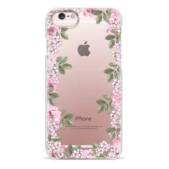iPhone 6s Cases - A DAY IN BLOOM (Transparent) (Flowers)