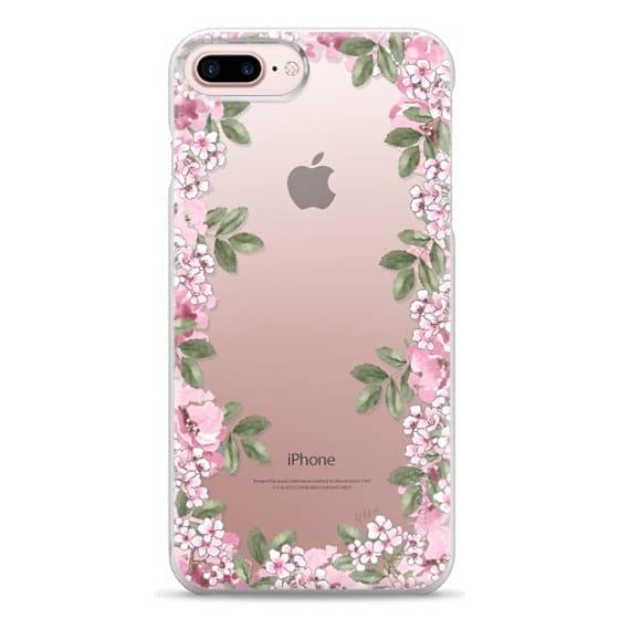 iPhone 7 Plus Cases - A DAY IN BLOOM (Transparent) (Flowers)