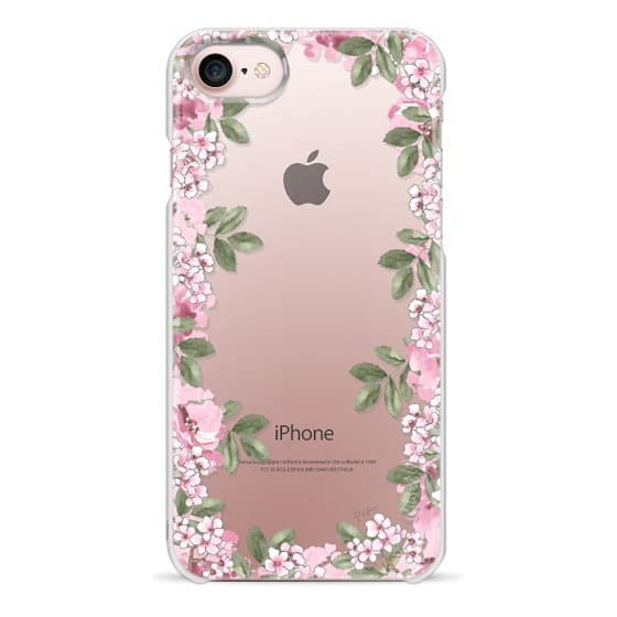iPhone 7 Cases - A DAY IN BLOOM (Transparent) (Flowers)