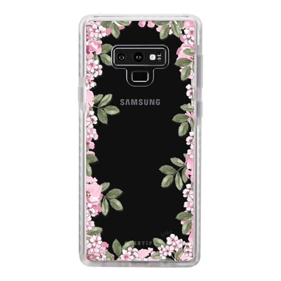 Samsung Galaxy Note 9 Cases - A DAY IN BLOOM (Transparent) (Flowers)