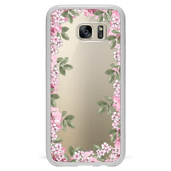 Samsung Galaxy S7 Edge Cases - A DAY IN BLOOM (Transparent) (Flowers)