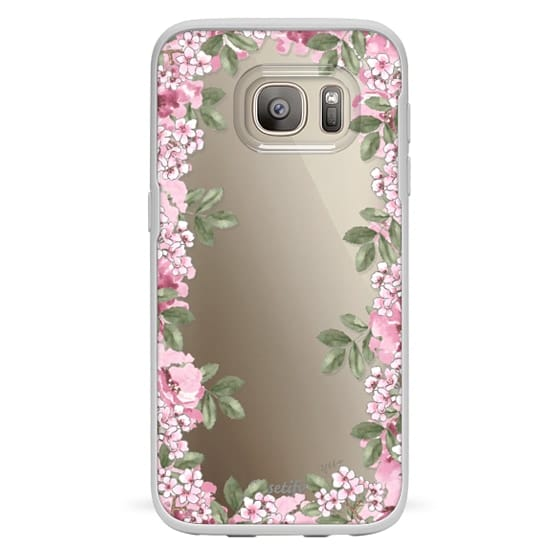 Samsung Galaxy S7 Cases - A DAY IN BLOOM (Transparent) (Flowers)