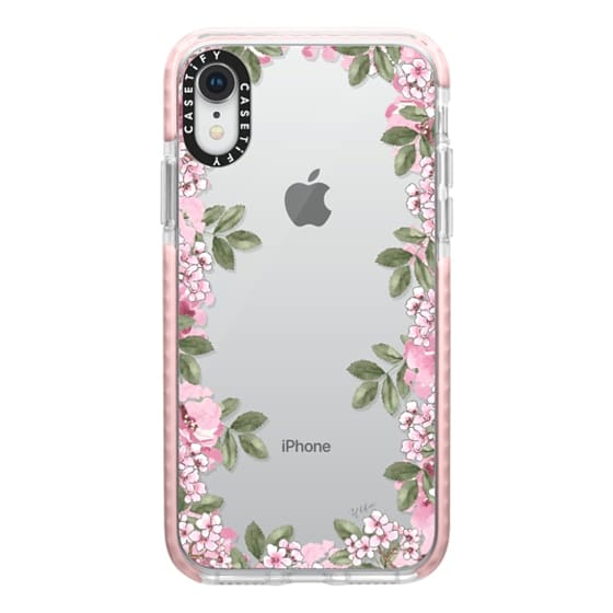 iPhone XR Cases - A DAY IN BLOOM (Transparent) (Flowers)