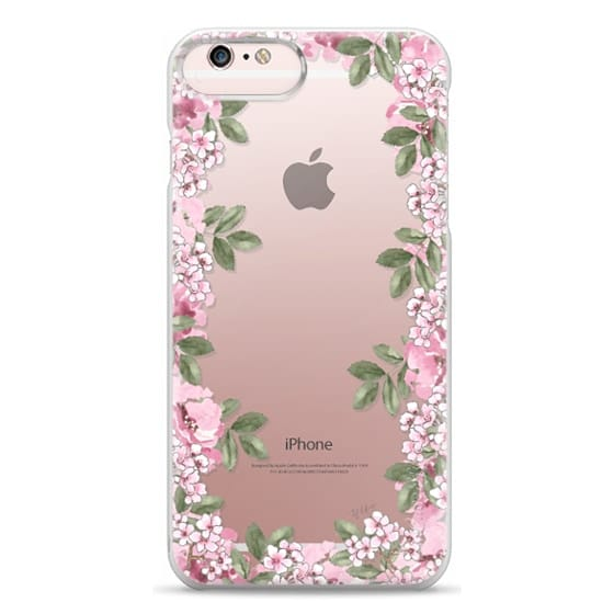 iPhone 6s Plus Cases - A DAY IN BLOOM (Transparent) (Flowers)
