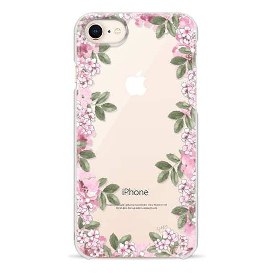iPhone 8 Cases - A DAY IN BLOOM (Transparent) (Flowers)
