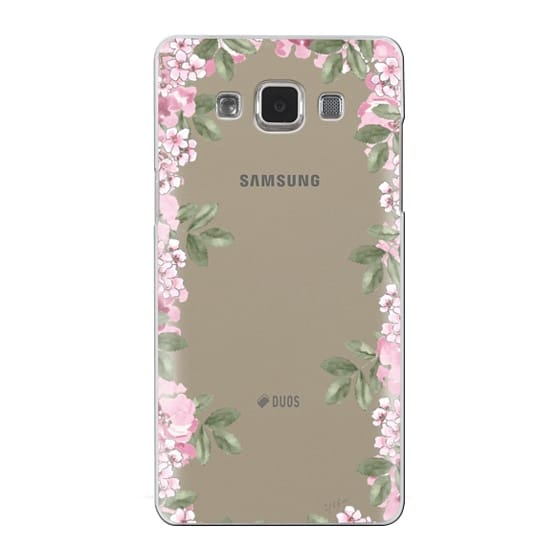Samsung Galaxy A5 Cases - A DAY IN BLOOM (Transparent) (Flowers)
