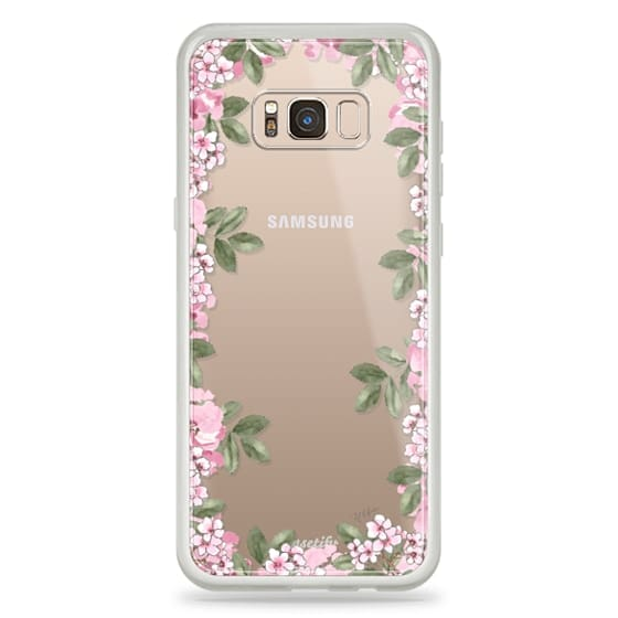 Samsung Galaxy S8 Plus Cases - A DAY IN BLOOM (Transparent) (Flowers)