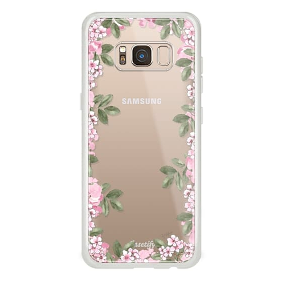 Samsung Galaxy S8 Cases - A DAY IN BLOOM (Transparent) (Flowers)