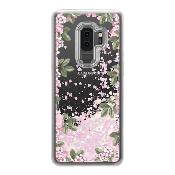 Samsung Galaxy S9 Plus Cases - A DAY IN BLOOM (Transparent) (Flowers)