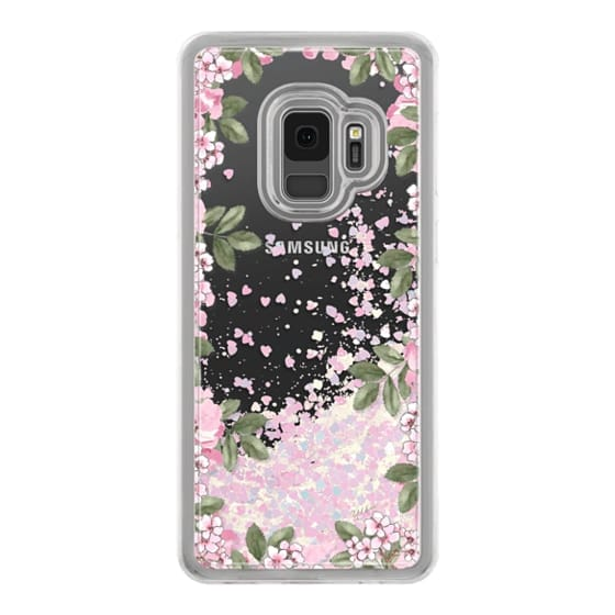 Samsung Galaxy S9 Cases - A DAY IN BLOOM (Transparent) (Flowers)